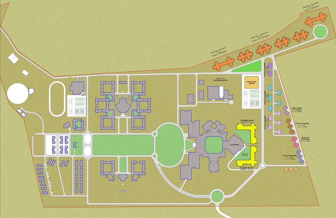 bits pilani campus map Campus Expansion For Bits Pilani At Hyderabad bits pilani campus map